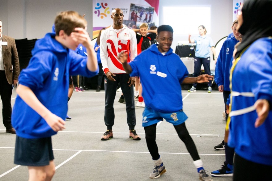 Birmingham school says city-wide sports programme has helped it to become 'best version of itself'