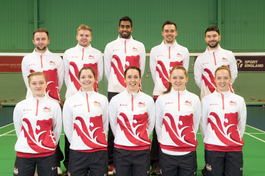 Team England names ten badminton players heading to Gold Coast Commonwealth Games
