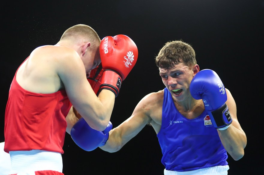 Punch perfect performance for Team England boxers