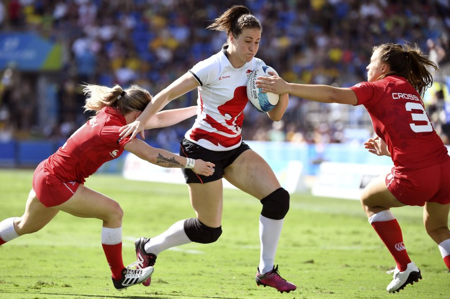 Emily Scarratt breaks England points record in romping win over Scotland