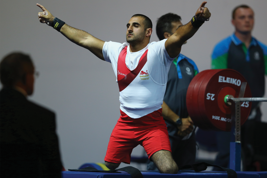 Team England Announces Weightlifting and Para-Powerlifting Squad for 2018 Commonwealth Games