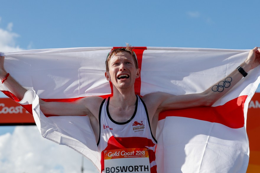 Bosworth smashes own British 5,000m race walk time to claim gold