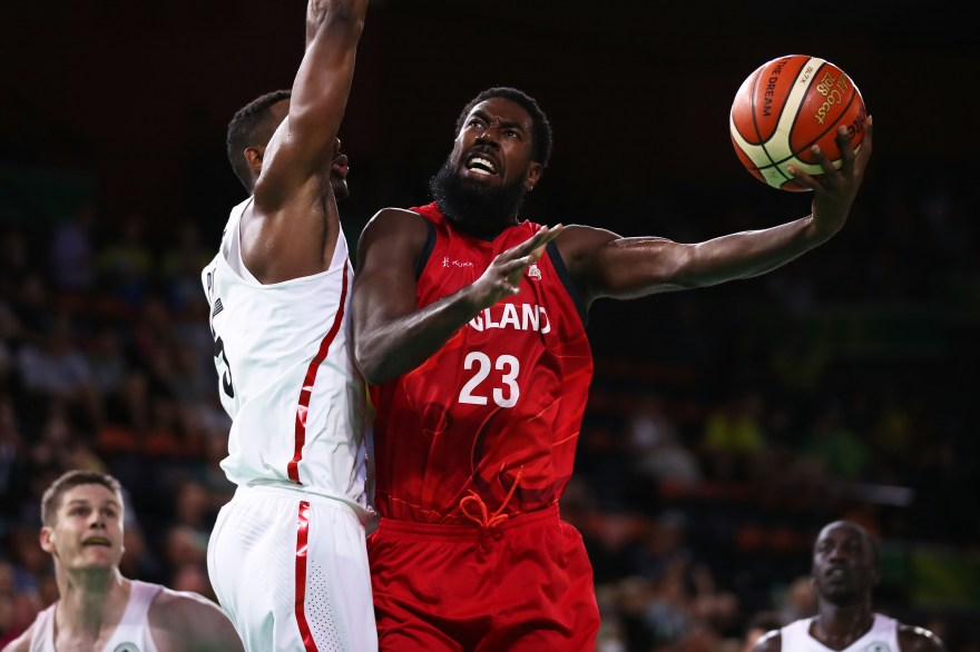 Orlan Jackman tests himself at Wheelchair Basketball