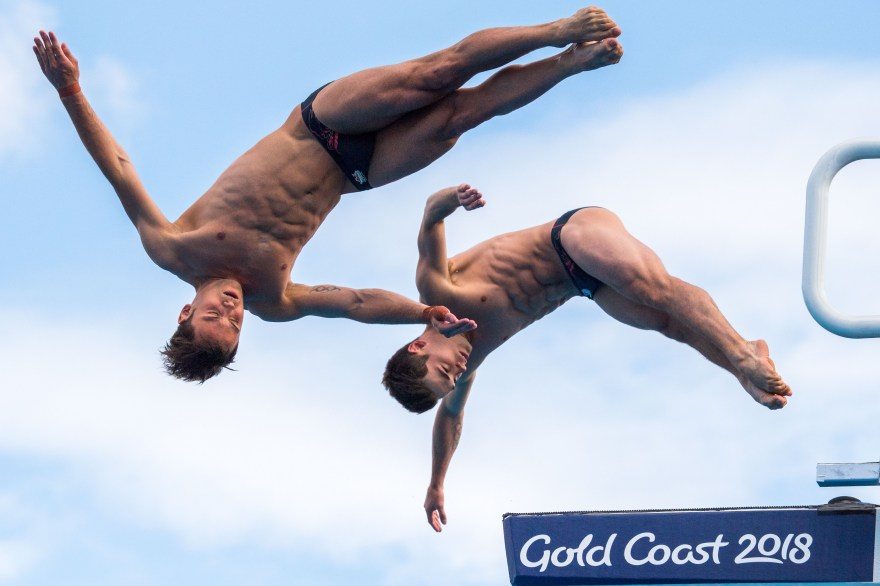 Team England athletes triumph in Diving World Series
