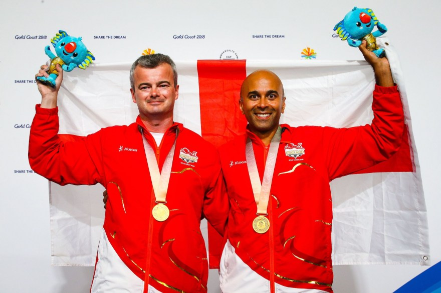 First gold of day 6 for Team England