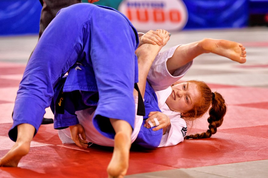 The Brummie judoka with eyes on 2022 Games