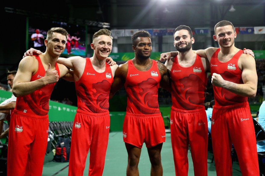 Team England gymnasts in contention for World Championship medals