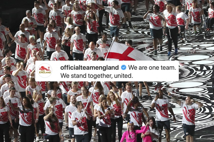 Team England: Living Through History