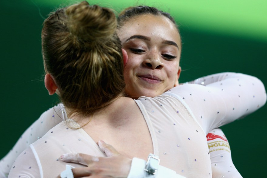 Double gold for Tulloch and Fenton in the Gymnastics as Wilson takes silver