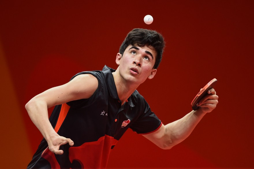 A different training landscape awaits Kim Daybell on his return to Table Tennis