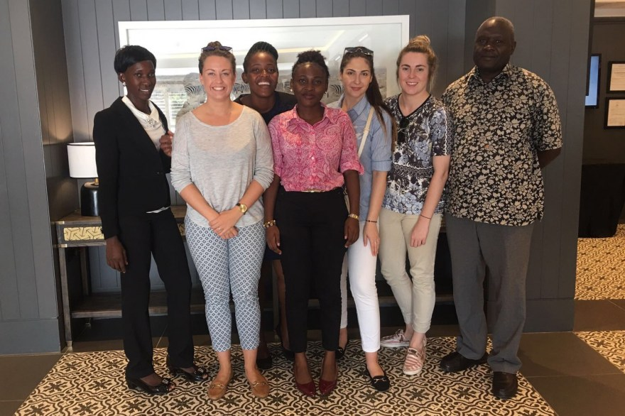 Commonwealth Games England unites with internship programme members from Europe and Africa