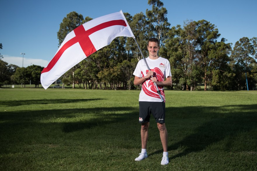 Alistair Brownlee named as Team England flagbearer