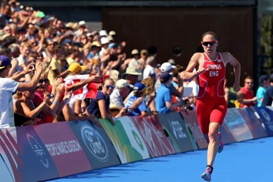 Jodie Stimpson on the rise of women's triathlon