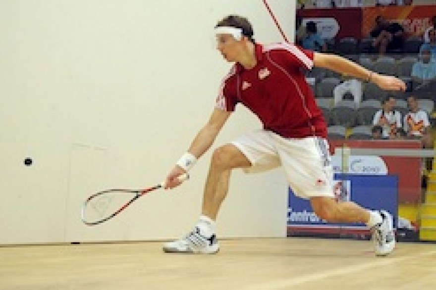 Squash: Boosting wins for England's doubles