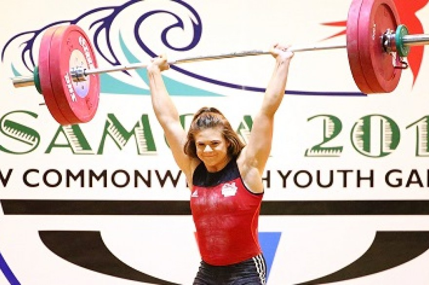 Further success for England's young athletes in Samoa