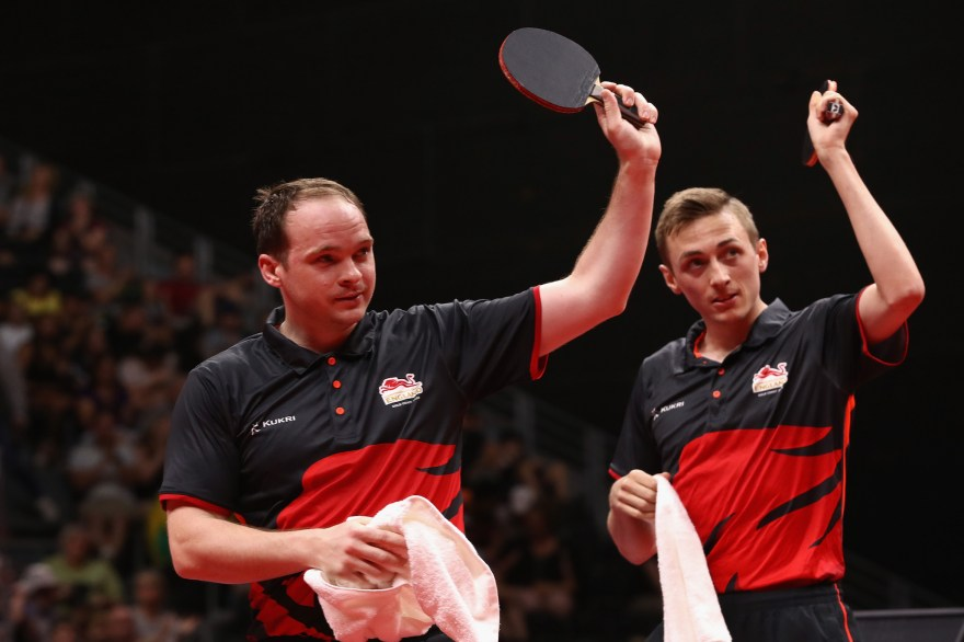Table tennis gold for Pitchford & Drinkhall