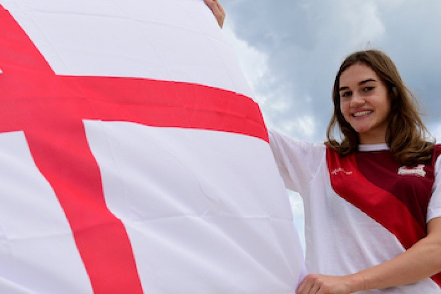 Holly Mills selected as Team England Flag Bearer