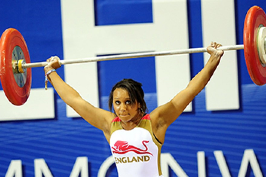 England's weightlifters and powerlifters announced